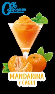 Srobete Mandarina Caqui Sorbett Monzó - Granizados Monzo